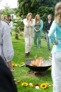 Das heilige Feuer der Geburt
