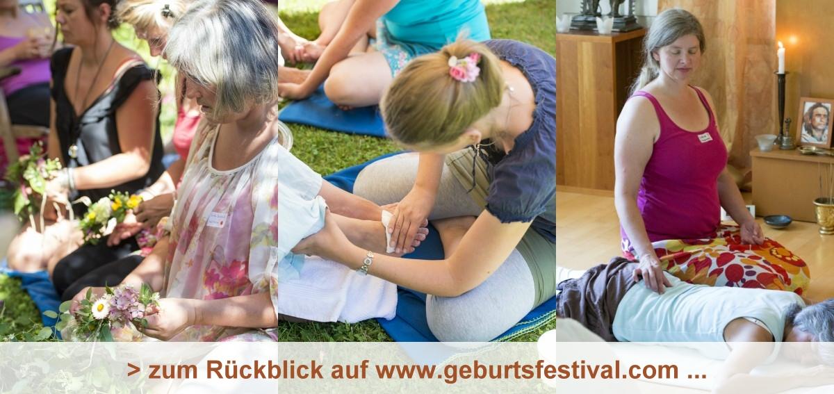 Rückblick auf das Geburtsfestival 2015 - www.geburtsfestival.com